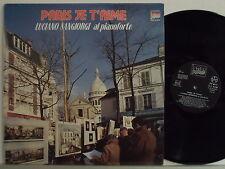 LUCIANO SANGIORGI disco LP  33  GIRI Paris je t'aime MADE IN ITALY