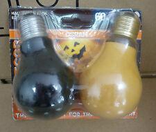 Osram Halloween Pack E27 60W Black Light+25W Orange Speziallampen