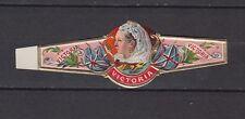 Ancienne  Bague  de Cigare Label    Femme Reine  Victoria