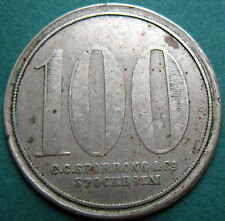 Trade token - jeton - Sweden - no counterstamp - 100