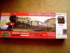 NEW HORNBY DIGITAL R1184 00 The Western Express With e-Link  DCC Sound Train Set