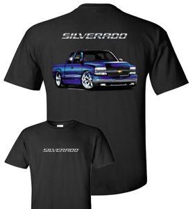 Chevy Silverado Pickup T-Shirt 100% Cotton -Preshrunk