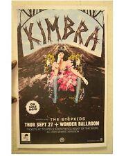 Kimbra Poster Wonder Ballroom Gig Concert