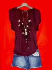 "Miss Sixty ""oversized"" camisa romance Boho estrellas m 38 40 blogueros nuevo!!! top!!!"
