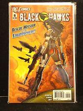 BLACK HAWKS #1,2,3,4 & 5 DC COMICS THE NEW 52 2011-12 Lot of 5