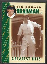 WEETBIX DON BRADMAN GREATEST HITS CRICKET CARD # 13 of 16