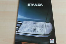 111438) Nissan Stanza Prospekt 01/1984