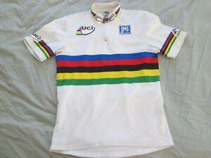 SMS Santini UCI Italy Bike World Champion Cycling Jersey Shirt Top Men Size: L