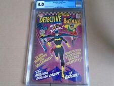 DETECTIVE COMICS #359 Batman Origin 1st App. Batgirl DC Comics 1967 CGC 4.0