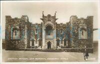Edinburgh Castle Scottish National War Memorial Valentine Real Photo 204697