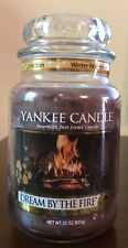 Yankee Candle DREAM BY THE FIRE 22 oz Jar Collectors Edition Winter Wonderland