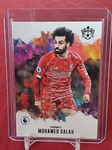 Mohamed Salah Liverpool Pitch Kings Chronicles 2019/20 Panini Card
