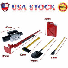US 1/10 Scale RC Rock Crawler Accessory Tool Set Can For D90 SCX10 Wraith Red
