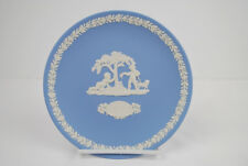 Wedgwood 1983 Mothers day plate pretty Jasperware 6.5' across