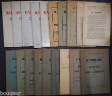 ARTHUR RIMBAUD - Le Bateau Ivre Bulletin des Amis Nouvelle série complète 1 à 20
