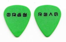 Orgy Ryan Shuck Signature Green Guitar Pick - 1990s Tours