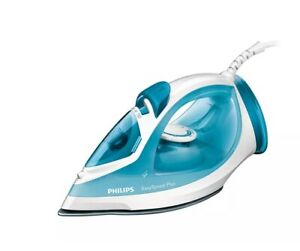 Philips GC2040 2100-W Plastic Self Cleaning Swivel Cord Steam Iron, White & Blue
