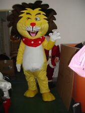 The Lion King Mascot Lion Costume Fancy Dress Unisex Adult King of Forest Party