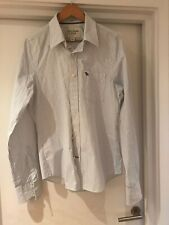Abercrombie & Fitch Mens Pin Striped Shirt - Size Large  (100% COTTON)