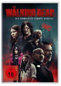 The Walking Dead - Komplette Staffel 10 [6x DVD] NEU DEUTSCH Season 10 UNCUT