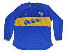 Boca Junior long sleeves Jersey shirt Nike L 2000 home model Blue