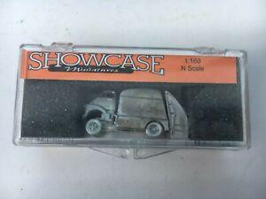 SHOWCASE Miniatures #36 1950's TRASH TRUCK 1:160 (N) Scale in Box - Unpainted