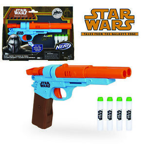 Star Wars The Mandalorian NERF BOUNTY HUNTER BLASTER Galaxy's Edge Disney