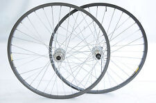 "26"" X 1.75  559 - 17 DISC HUB MTB DUAL WALL RIM WHEELS GREY 6, 7, 8 SPEED Q/R"