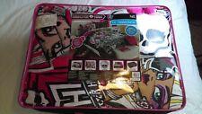 Rare 9 piece Girls Monster High Full Comforter+Sheets+Pillow Set Bed in a Bag