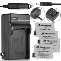 LP-E8 Battery & Charger for Canon Rebel T5i T4i T3i T2i Kiss X5 EOS 600D 550D