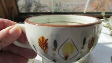 """STANGL POTTERY AMBER GLO PAT CUP (4 1/2""""D) (7 AVAILABLE)"""