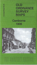 OLD ORDNANCE SURVEY MAP CAMBORNE 1906