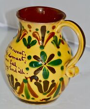 More details for 19th century aller vale 'kerswell daisy' pattern jug