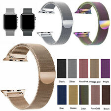For Apple Watch Strap Series 5/4/3/2/1 Magnetic Milanese Loop Band 38/40/42/44mm