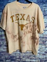 Texas Longhorn Vintage One Of One Section 101 🔥Rare Hot Light Dyed Only One On