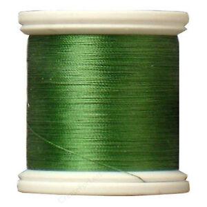 Kanagawa / YLI 100% and #100 Silk Thread [ 220 - Grass Green ]