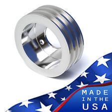 Big Block Ford Crankshaft Pulley 429 460 3V Crank BBF Billet Aluminum A/C Air