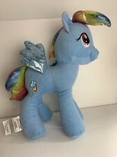 "My Little Pony Rainbow Dash 18"" Plush Iridescent Hair And Tail"