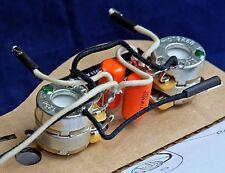 "Ready Built ""Flea"" - Fender 62 American Vintage Jazz Bass Wiring Upgrade / Loom"