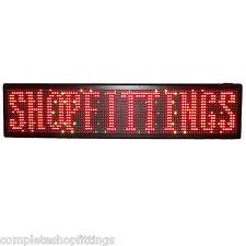 Nueva tienda Running Moving Led Pantalla de mensajes de desplazamiento rótulo