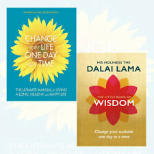 Change Your Life One Day at a Time, Little Book of Wisdom 2 Books Collection Set