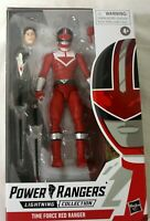 Hasbro Power Rangers Lightning Collection Time Force Red Ranger Figure