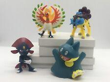 Pokemon Pikachu Action Figures Set of 4 Brand Large New #1
