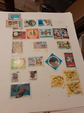 Stamps Ghana,9 hinged pages,good value,nice lot.