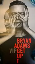 "Bryan Adams - Get Up Vip Concert Poster 11"" X 17"" New (Still Rolled)"