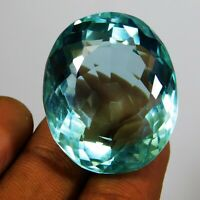 Natural Loose Aquamarine Gemstone 100 - 150 Ct Precious Certified Gift Sales