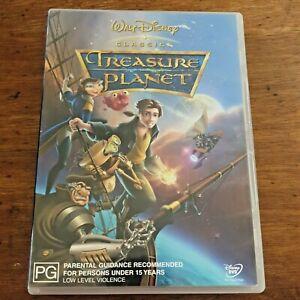 Treasure Planet DVD R4 – FREE POST