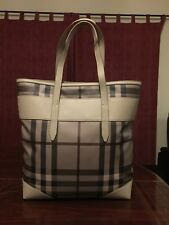 Large Burberry Check Tote/shoulder Bag