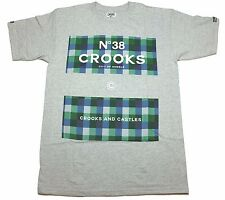 CROOKS & CASTLE MEN'S KNIT CREW T-SHIRT - COLORS