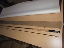 unused rare vintage allcocks brown factory sample trout fly fishing rod 9ft 6""